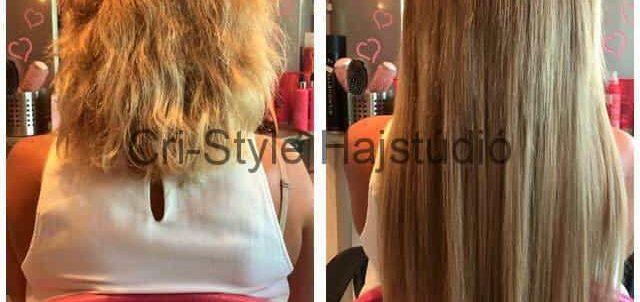 Hajhosszabbítás rövid hajra!