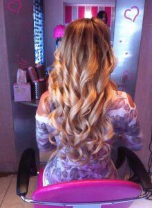 Balayage festés, hajhosszabbítás