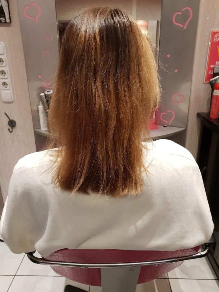 Hajhosszabbítás előtt
