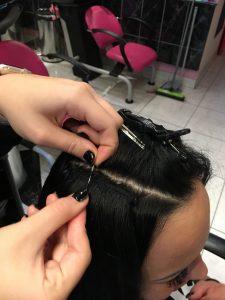 SplayWeft kíméletes hajhosszabbítás