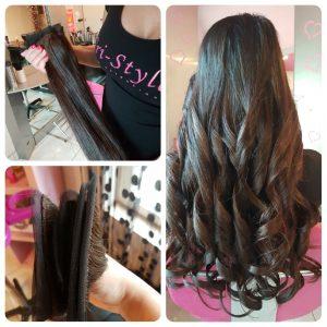 SplayWeft hajhosszabbitas