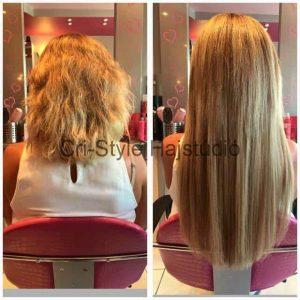 Hajdúsítás házilag vagy hajhosszabbítás a Cri- Style Hajstúdióban