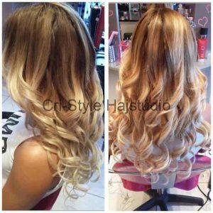 Hajhosszabbítás európai hajjal
