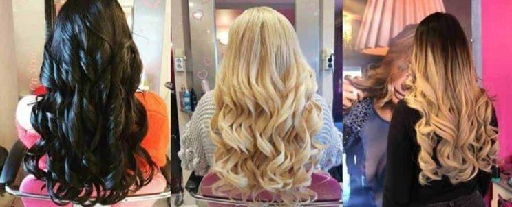 Hajhosszabbítás európai haj
